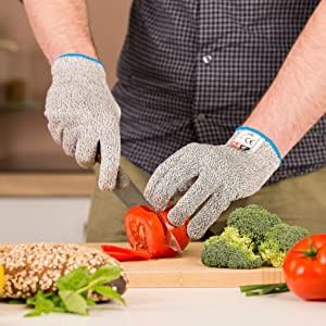 Superior grip snug fit for small large hands prepare food work jobs requiring precision dexterity