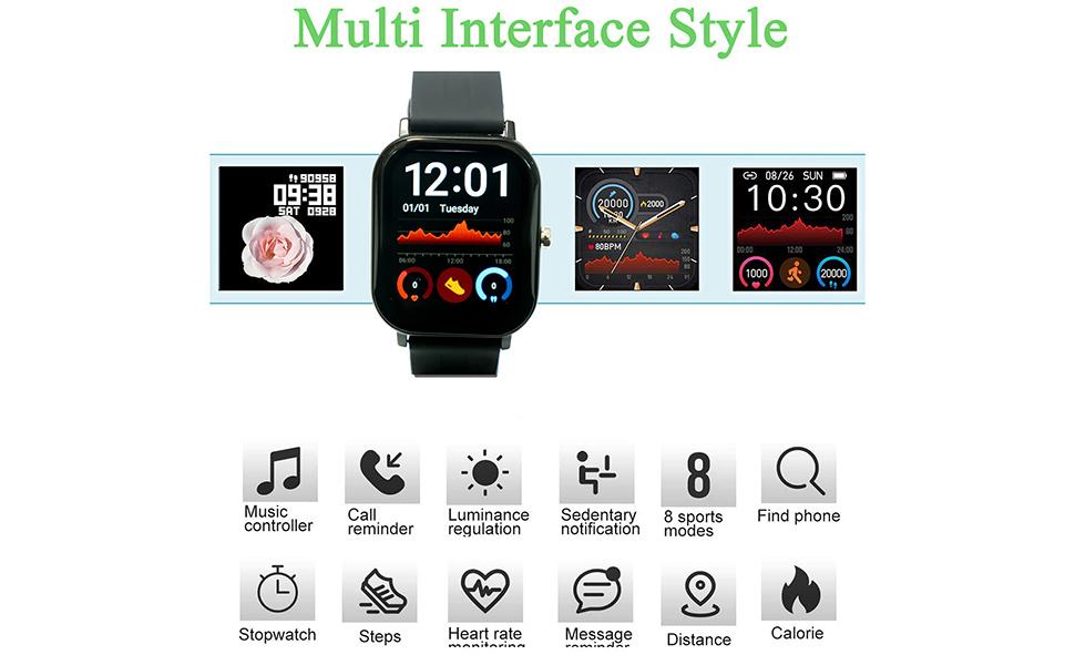 Multi-interface style