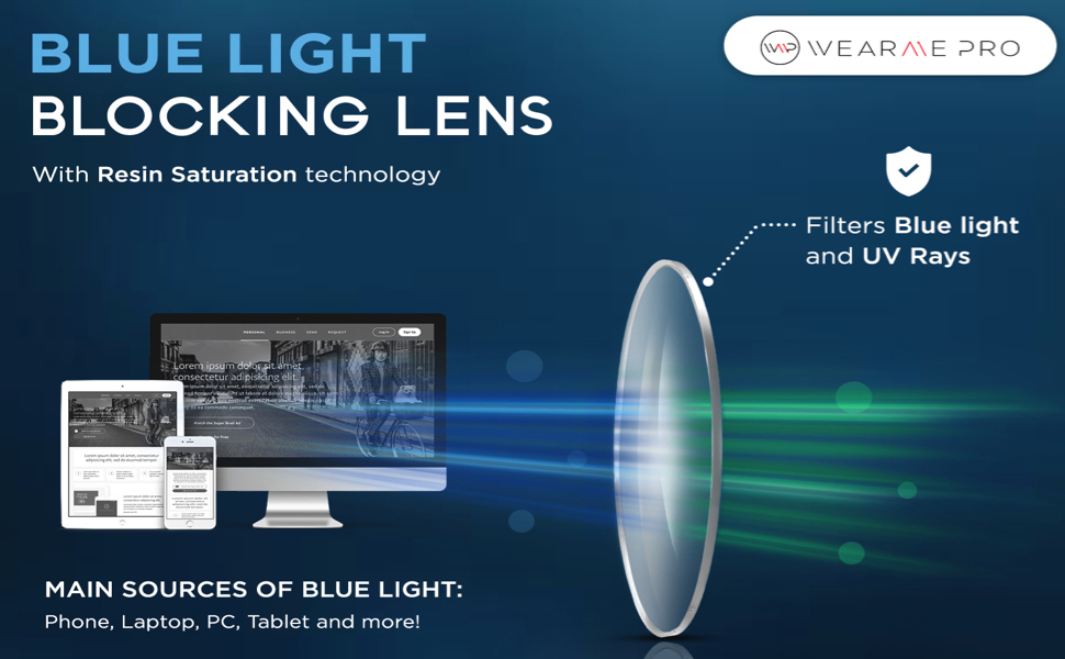 WearMe Pro Blue light glasses