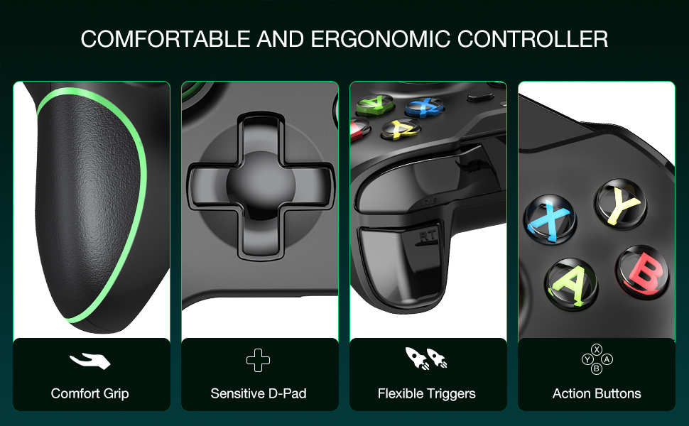 wired xbox one game controller