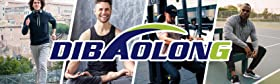 DIBAOLONG Mens Yoga Sweatpants Open Bottom Workout Joggers