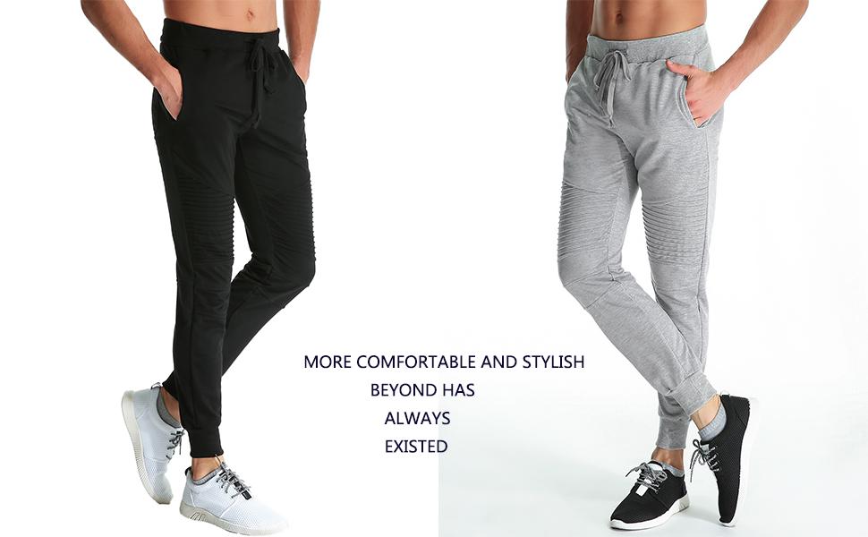 Mens Joggers Bottoms Fleece Cuffed Leg Jogging Track Pants Casual Trousers S-3XL