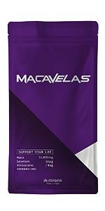 MACAVELAS マカベラス マカ 亜鉛 特許成分カンカ 精力剤