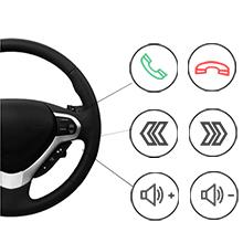 Supporta il controllo del volante