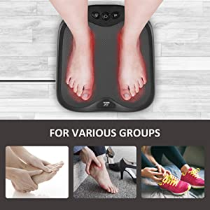 foot massage with heat foot warmer at home office travel portable massager
