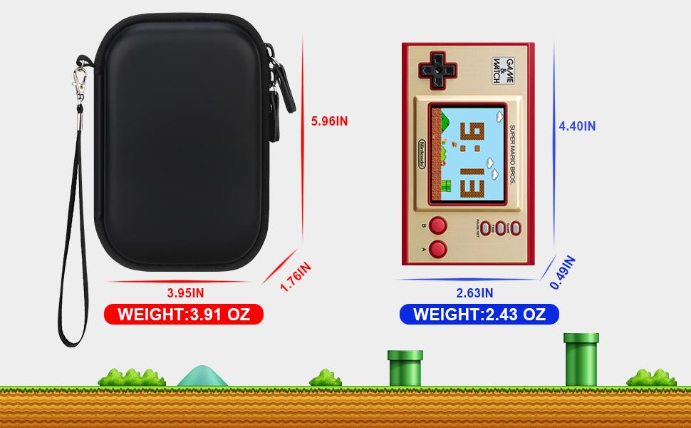 Nintendo Game&Watch:Super Mario Bros Durable Travel Case
