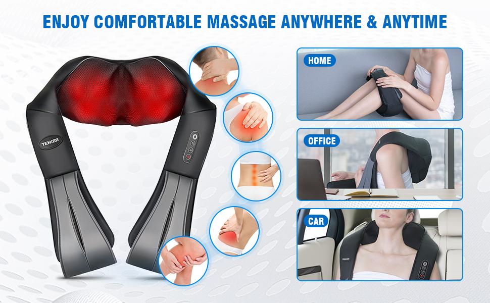 Enjoy Comfortable Massage Anywhere & Anytime