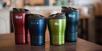 Cheeki 240ml Double Walled Insulated Coffee Cup   BPA Free