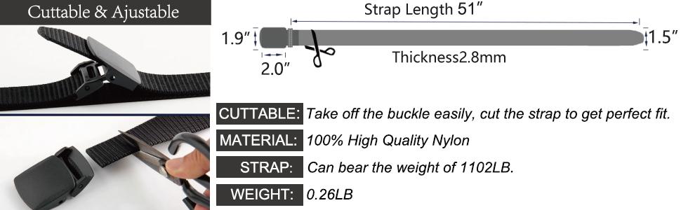 sport belts for men