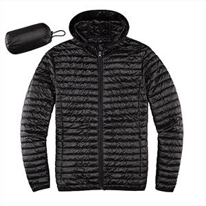 Men's Lightweight Quilted Ultra Loft Packable Puffer Jacket