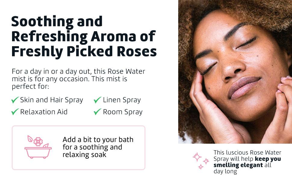 agua de rosas para la cara, Facial Toner Spray, Face Toner spray, Rose spray, face mist spray