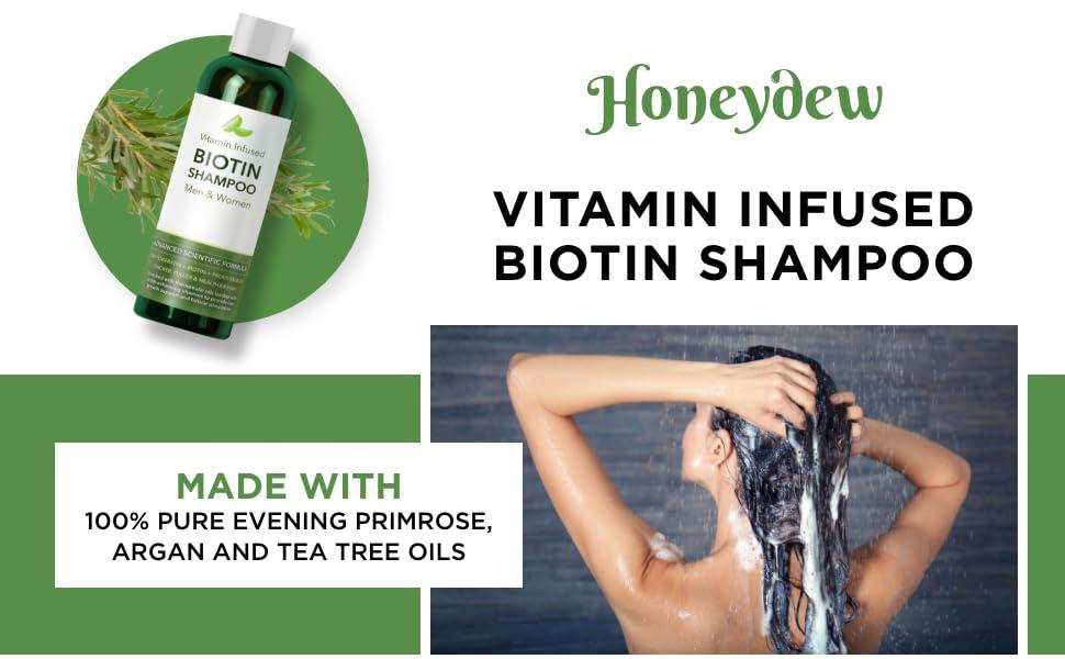 vitamin biotin shampoo