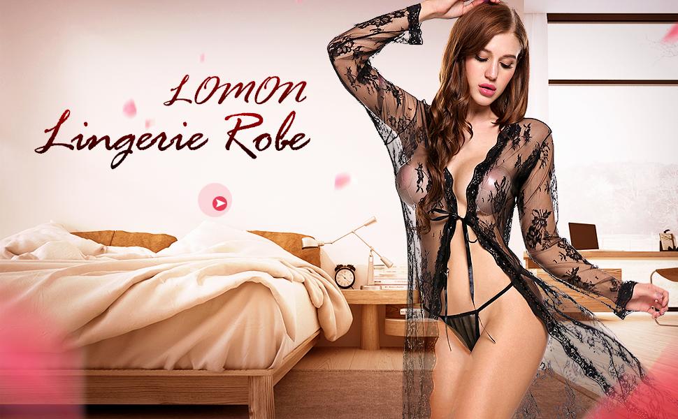 lingerie robe