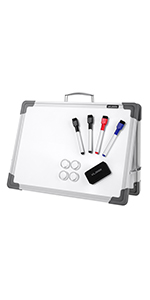 VUSIGN Portable Magnetic Double Sided Dry Erase Board