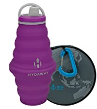 Hydaway Bottle  25ozSpout Lid timber