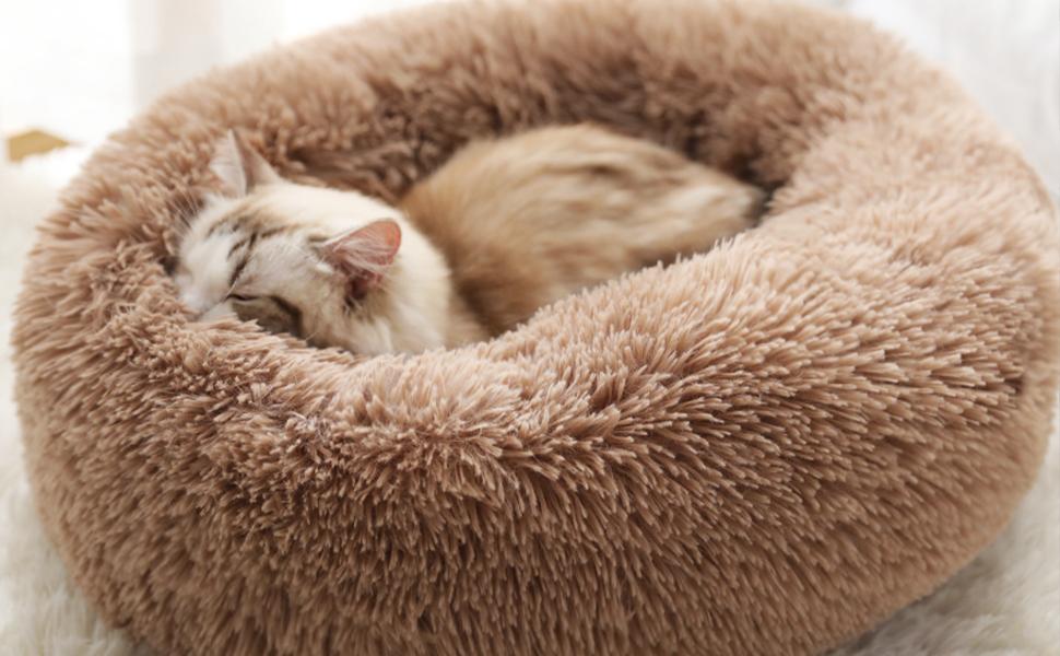 comfy warming pet bed