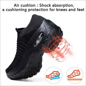 air cushion outsole