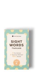 Think Tank Scholar Kindergarten Sight Words Flash Cards