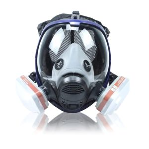 paint respirator mask with filters