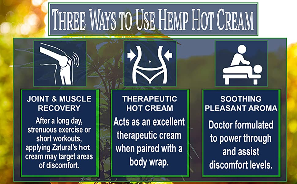 Hemp Hot Cream