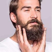 beard itch and beard dandruff