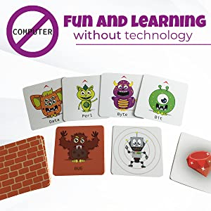 Fun and learning without technology. No screen to stare at