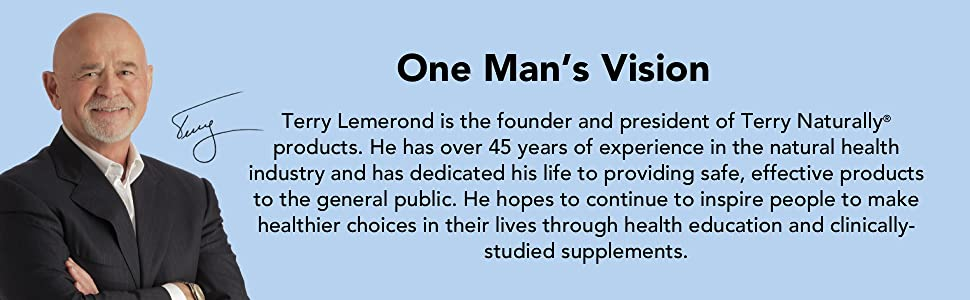 terry lemerond, terry naturally, natural health industry, dietary supplements, clinically studied
