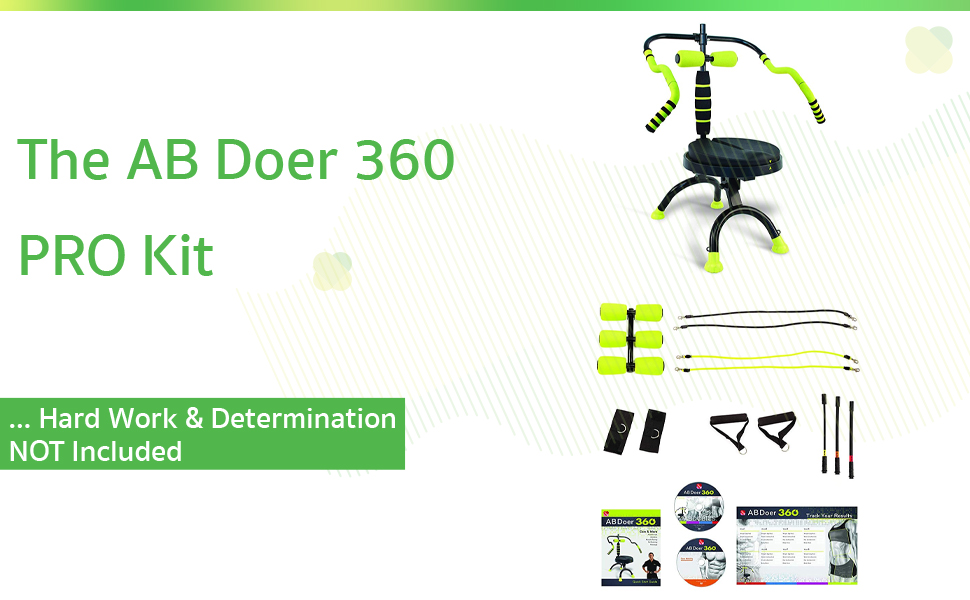 The AB Doer 360 PRO Kit … Hard Work & Determination NOT Included
