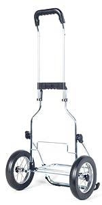Einkauswagen Royal aus Stahl mit Metallspeichenrad
