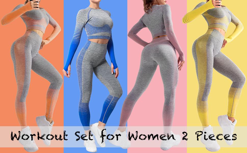 womens  workout set 2 pieces