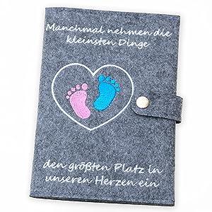 Mutterpasshüllen Filz Mutterpass Hülle Geschenk Schwangerschaft