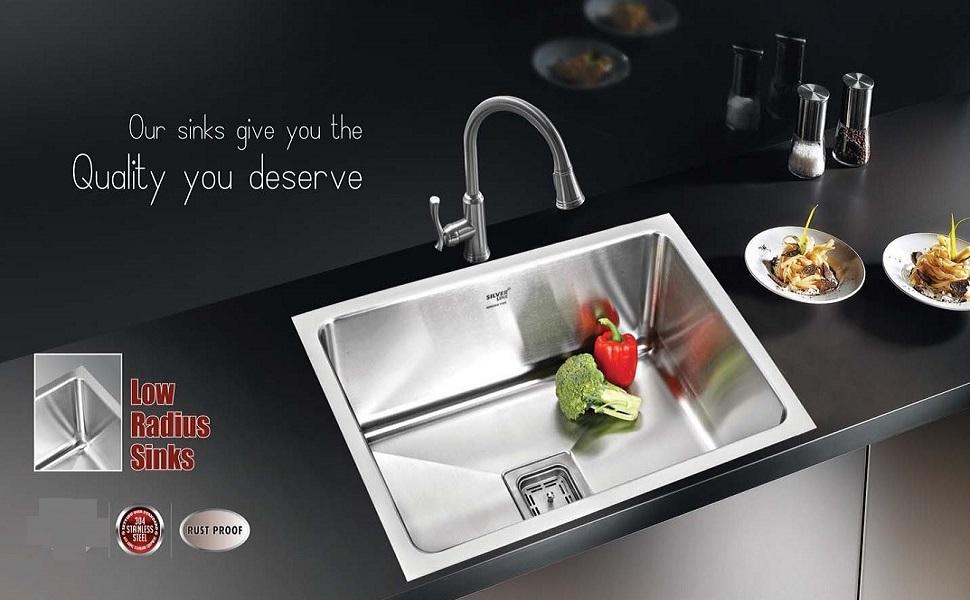 SPN-LO4C5C Single Bowl Sink