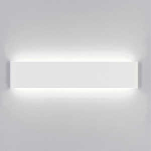 Yafido Aplique Pared Interior LED 40CM Blanco Lámpara de pared 14W Blanco Frío para Salon Dormitorio Sala Pasillo Escalera Baño AC 220V: Amazon.es: Iluminación