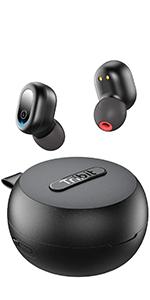 earphones bluetooth wireless headphones waterproof bluetooth wireless bluetooth earbuds sweatproof