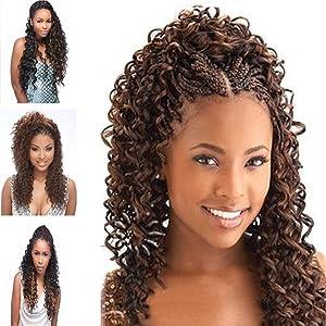 Amazon Com Wet N Wavy Bulk Hair Quality Hair Micro Braiding Super Bulk Style 2 Pack Deal Length 18 Inch Chocolate Brown 4 Beauty