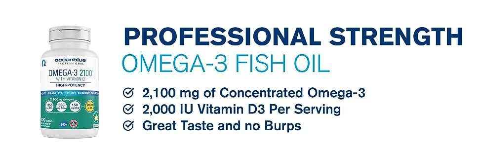 concentrate omega 3 fish oil no burps 2000 IU vitamin d d3