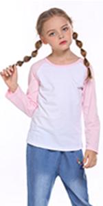 3-Pack Long Sleeve Raglan Shirt
