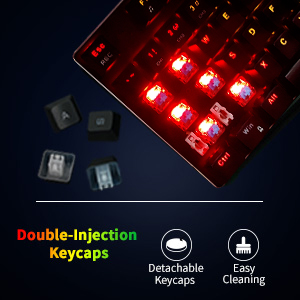 Mechanical Gaming Keyboard,computer keyboard,wired keyboard,typewriter keyboard,light up keyboard