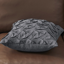grey pillow covers