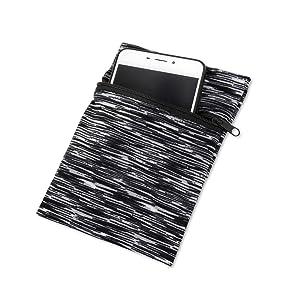 fopor phone running wristband pouch bag sleeve case
