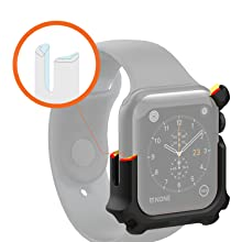 URBAN ARMOR GEAR UAG APPLE WATCH CASE 44MM BLACK, RUGGED, TOUGH, TWO LAYER PROTECTION, IMPACT PROOF