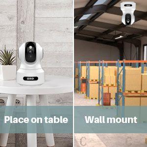 D3D 826 AI Smart IP Camera easy setup