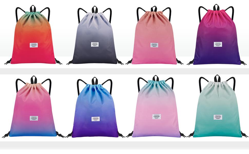GroudenR Mars Volta Drawstring Backpack String Bag Sackpack For Gym Shopping Sport Yoga White One Size