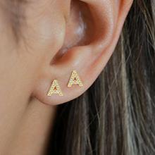 A initial earring