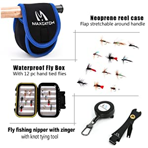 fly box and accessories