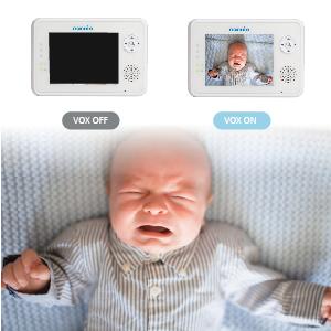 baby monitor saving battery life VOX mode