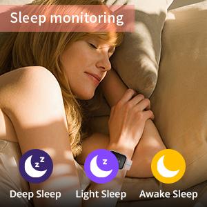 sleep tracker for women fitness trackers women smart watches pedometer watch for women step tracker