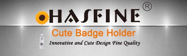 HASFINE Badge holder for nurse