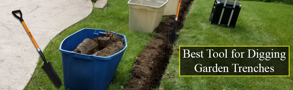 Best Method For Digging Trenches with shovel