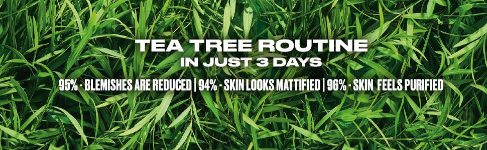 TEA TREE, BODYSHOP, CLEAR SKIN, CLEANSING, FOAM